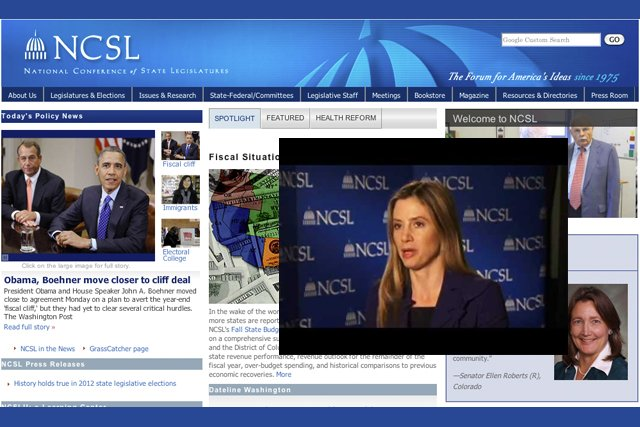 Mira Sorvino speaks on human rights at NCSL